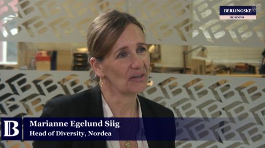 VIDEO: Nordea-chef: Kvinder skal lave fejl